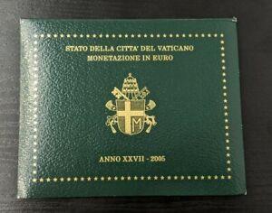 Vatican-Jean-Paul-II-Coffret-officiel-BU-8-pieces-2005