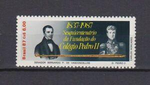 S19222) Brasilien Brazil 1987 MNH Neu Pedro Colegio 1v
