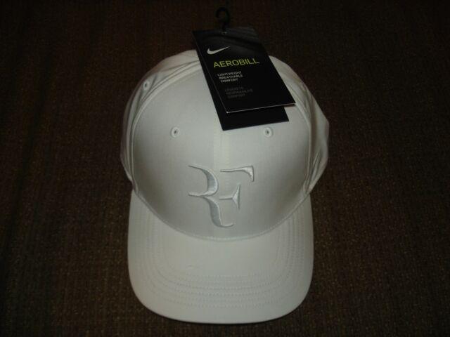 db32a2dcd5a NWT Nike AeroBill Federer RF Classic 99 Tennis Hat Cap White 868579-101  Nadal