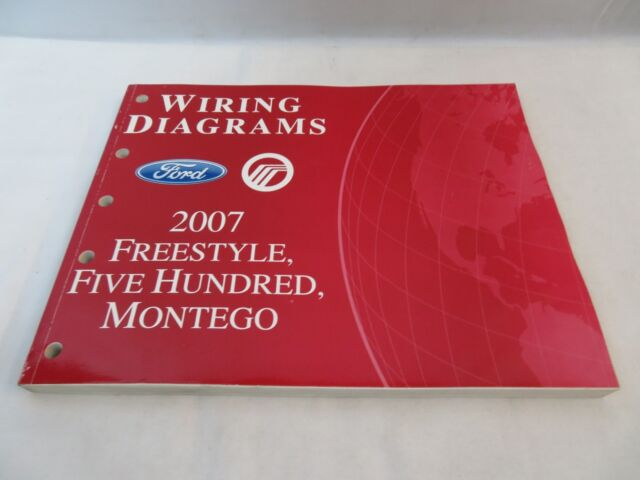 2007 Ford Freestyle Five Hundred Montego Wiring Diagrams