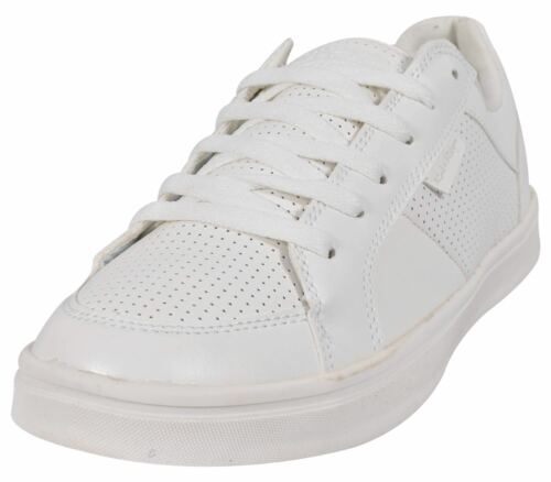 Hommes Plat Tennis Toile Chaussures Élégant Confortable À Enfiler Lacets Basket Taille