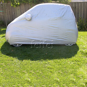 1x-Car-Auto-cover-body-Sun-Rain-Dust-Proof-Cover-Shield-For-BENZ-SMART-fortwo