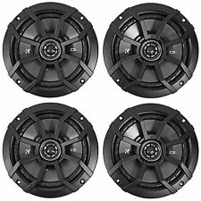 "(4) KICKER 43CSC654 CSC65 6.5"" 6-1/2"" 1200w 4-Ohm Car Audio Coaxial Speakers"
