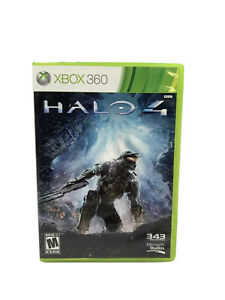 Halo 4 (Microsoft Xbox 360, 2012) Complete Video Game