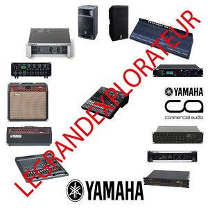 ultimate yamaha pro audio repair service manual 385 pdf manuals on 2 rh ebay com