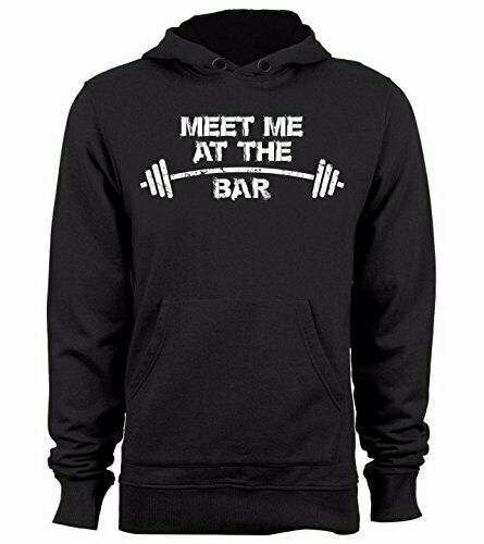 Men/'s Meet Me At The Bar Camo Sleeveless Vest Hoodie Fitness Workout Gym Lifting