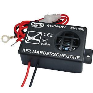 KFZ-Ultraschall-Marderschutz-Marderscheuche-Marderschreck-Marderabwehr-NEU
