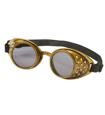 2pcs Steampunk Goggles Victorian Real Compass Mini Top Hat Dress UP Costume