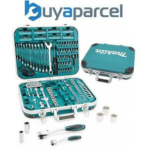 Makita P-90532 227 Piece General Maintenance Spanner Socket Screwdriver Bit Set