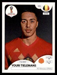 Belgien Belgien Panini WM 2018 World Cup Russia Sticker 512 Emblem