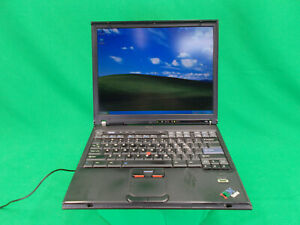 IBM-Thinkpad-T43-Intel-Pentium-M-1-86GHz-60GB-HDD-2-0GB-RAM-Windows-XP-Pro