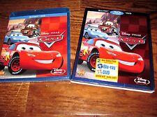Cars: Owen Wilson; Disney (Blu-ray/DVD,2011, 2-Disc Set) New: Sealed+I Ship Fast