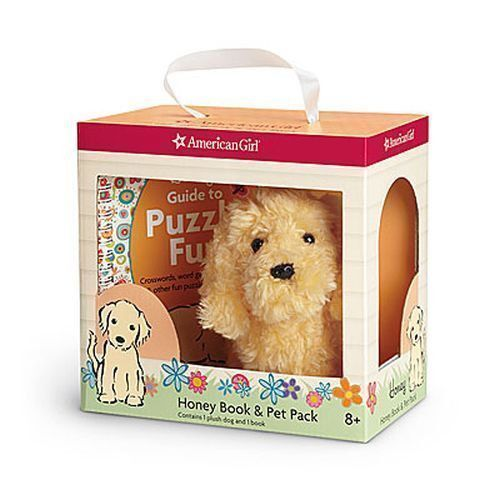 American Girl Doll Pet Golden Retriever Honey NEW!!
