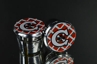 new NOS COLNAGO ARABESQUE Handlebar End Plugs endcaps vintage Bar End Caps