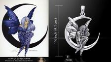 Moon Dream Fairy Pendant Amy Brown Just Like Silver fantasy artist Peter Stone