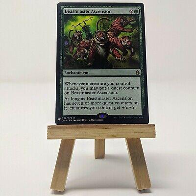1X Beastmaster Ascension Zendikar NM Green Rare MTG