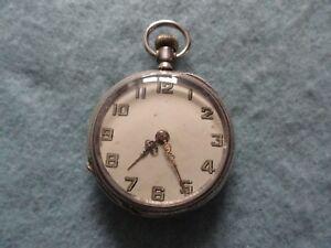 Antique Normandie Skeleton Pocket Watch Antique