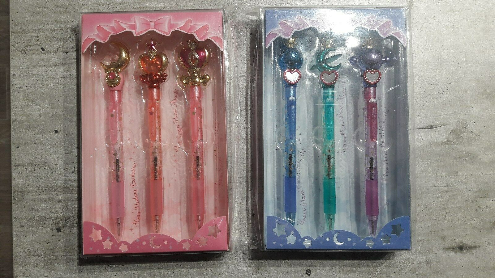 6 stylos Sailor Moon power ball pen  Prism Sun-star stationery sceptre uranus  jusqu'à 42% de réduction