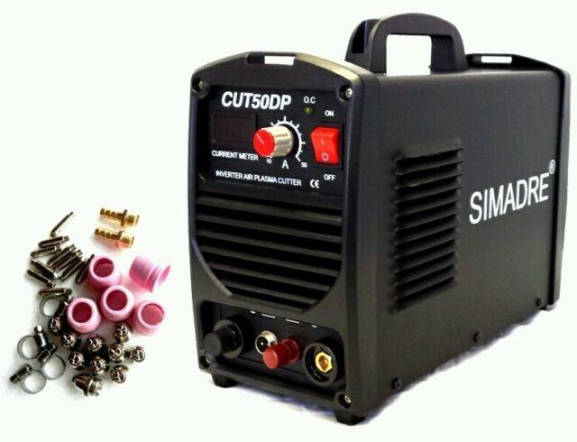 SIMADRE PILOT ARC 50AMP 110V/220V PLASMA CUTTER CNC Compatible 25 CONS -SALE