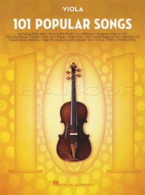 101 Popular Songs For Viola Sheet Music Book Michael Jackson Billy Joel Beatles Producten Hot Sale