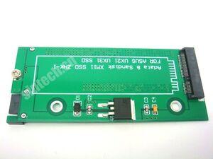Sandisk SDSA5JK SD5SE2 ADATA UX21 UX31 XM11 TAICHI21//31 SSD to sata adapter card