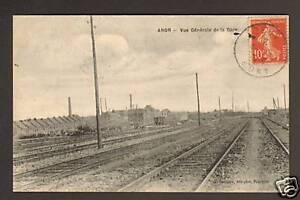 ANOR-59-USINES-amp-WAGONS-en-QUAI-de-la-GARE-en1921