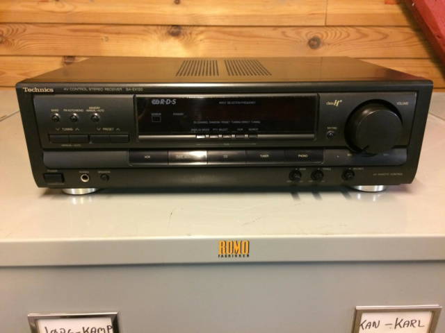 Receiver, Technics, Velfungerende no-nonse…