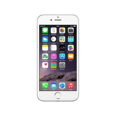 Apple iPhone 6 16GB 4G LTE Silver Unlocked GSM 8 MP Camera Smartphone, B+ Grade