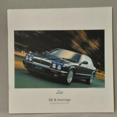 XJ6 X300 Sovereign Jaguar 1997 Sedan Brochure