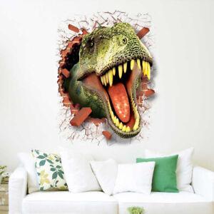3D-Dinosaur-Wall-Sticker-Kids-Bedroom-Decal-Mural-Cartoon-Animals-Wall-Art-Decor