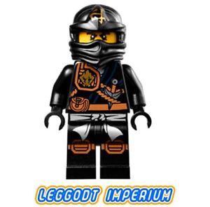 LEGO-Minifigure-Cole-knee-pads-Ninjago-minifig-njo124-FREE-POST