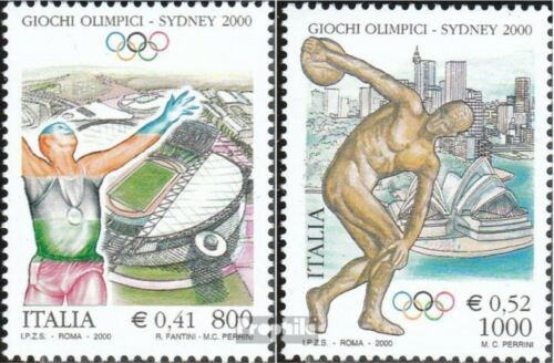 Italy 27162717 complete.issue. unmounted mint never hinged 2000 Olympics Su