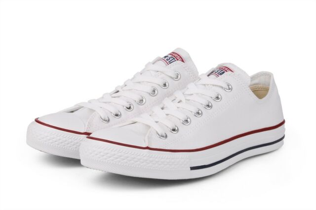 Converse Classic Chuck Taylor All Star Low M7652 Sneaker White NEW Men Women ***