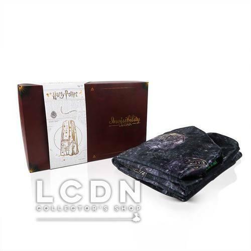 Harry Potter Invisibility Cloak Replica Cape d'Invisibi Deluxe Version WOW Stuff