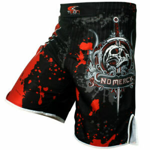 MMA Shorts Fighting UFC Short Grappling Short Kick Boxing Muay Thai Cage Samurai