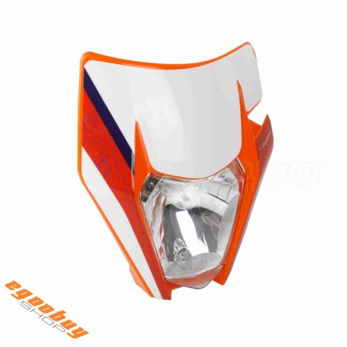 Universal Motorcycle Headlight Headlamp Fairing For EXC XCF SMR Street Bike