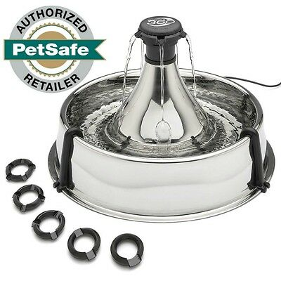 Drinkwell 360 Fountain Multi Pet Stainless Steel for Dogs & Cats PWW00-13705