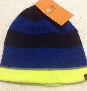 5e6fd7278387f C9 By Champion Boy s Stripe Knit Beanie Hat One Size Fits Most