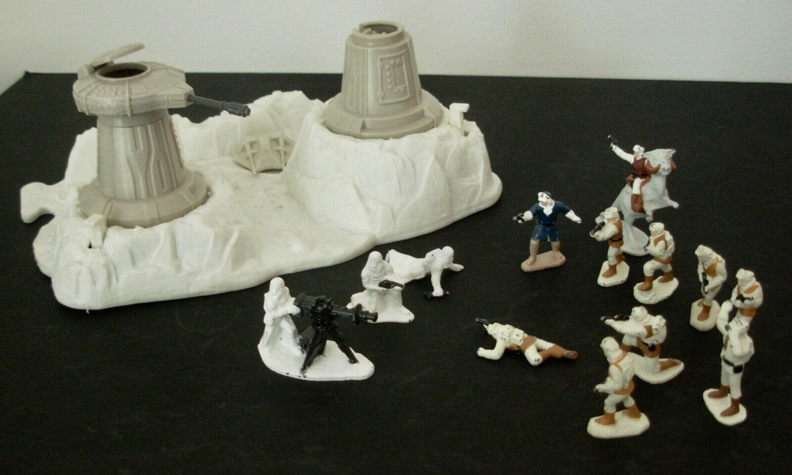 Star Wars planète Hoth 1982,1 Section & 13 mini figures, y compris Han Solo