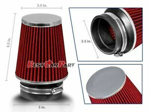 "3/"" Cold Air Intake Filter Universal BLACK For LTD//LTD Crown Victoria//LTD II"