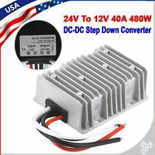 24v To 12v 40a Step Down Dc Dc Converter Voltage Regulator 40 Amp 480w Reducer