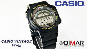 VINTAGE-CASIO-W-95-QW-945-JAPAN-TWIN-ALARM-CHRONO-WR-50-YEAR-1991