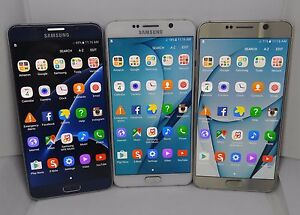 Samsung-Galaxy-Note-5-N920V-32GB-Unlocked-Verizon-LCD-Burn-Black-Gold-White