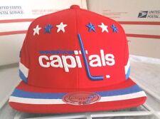 Washington Capitals NHL Mitchell & Ness Red Washington Capitals Cap