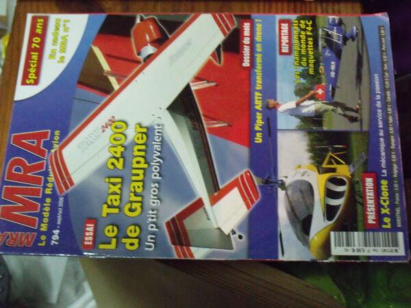 12µµ Revue Mra N°794 En Cadeau Mra N°1 / La-7 Lavochkin Piper J-3