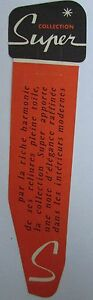 Antique-Brand-Pages-Bookmark-Advertising-Literature-Collection-Super-Orange