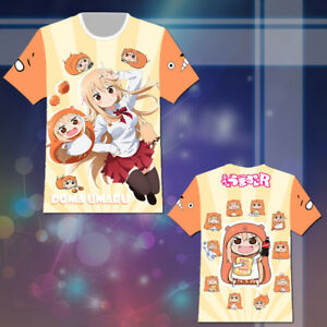 Anime Himouto! Umaru-chan T-shirt Tee Top Cosplay Costume Summer Cute Gift Otaku