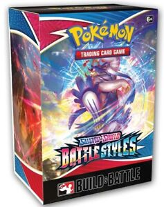 Battle Styles Build and Battle Kit Prerelease Pokemon TCG SEALED NEW