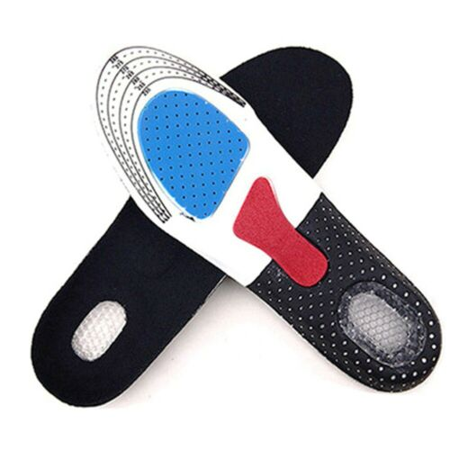 Gel Comfort Sports Einlegesohlen Schuhsportsohlen Polsterung Atmung eNwrg Ksy