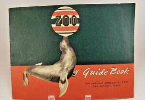 Vintage-San-Antonio-Zoological-Park-Zoo-Guide-Book-Texas-Program-Booklet